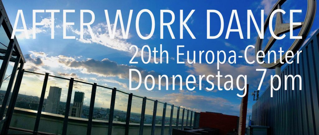 AFTER WORK DANCE 20th Europa-Center Berlin Concierge Gerry Terrasse Kopie