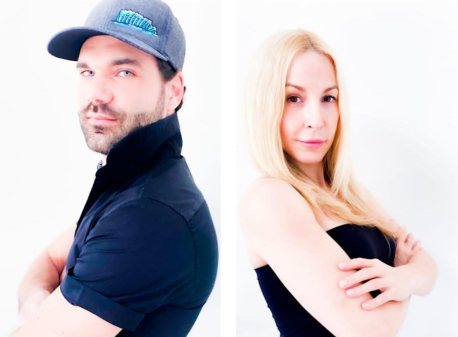 Hochzeit Mike Cees Michelle Monballijn Heirat Standesamt Ehe Eheleute geheiratet Model Schauspieler